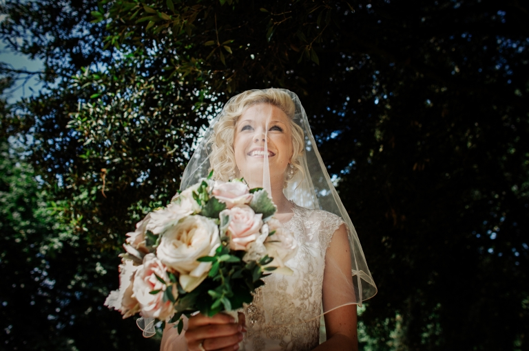 documentary and fine art wedding photography of bride arriving for Kelham Hall wedding