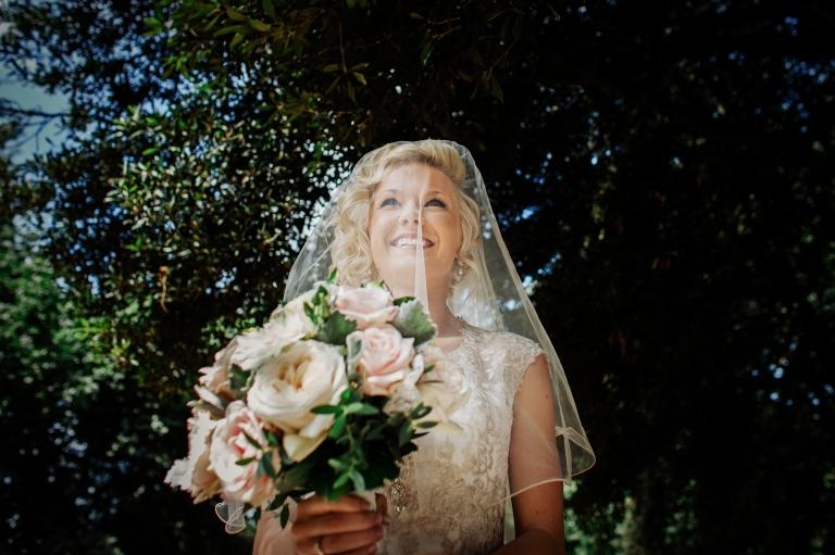documentary and fine art wedding photography of bride arriving for Kelham Hall wedding
